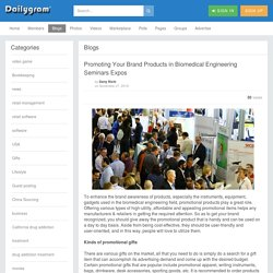Promoting Your Brand Products in Biomedical Engineering Seminars Expos