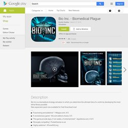 Bio Inc. - Biomedical Plague - Android Apps on Google Play
