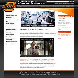 OSU-CHS | Biomedical Sciences