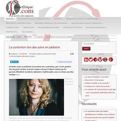 La contention lors des soins en pédiatrie-B Lombart- Bioethique.com -