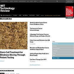 Technology Review: Biotech Channel