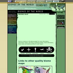 Biomes of the World - Biome Map