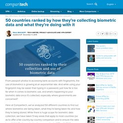 Biometric data collection by country: What's collected, how is it used?