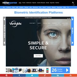 Biometric Identification Platforms : verifyme