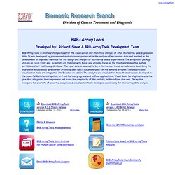 Biometric Research Branch home page