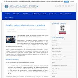 Biométrie : quelques notions de base sur la technologie