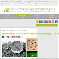 Biomimetica: la Natura come modello per il design, l'architettura e non solo