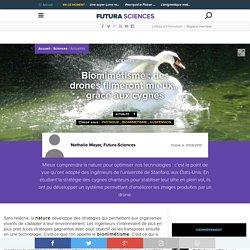 Biomimétisme : des drones filmeront mieux... grâce aux cygnes