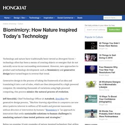 Biomimicry: How Nature Inspired Today's Technology