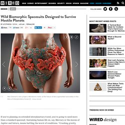 Wild Biomorphic Spacesuits Designed to Survive Hostile Planets