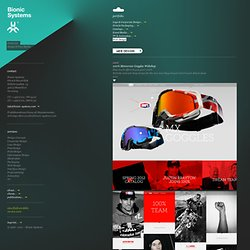 Bionic Systems — Web Design