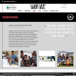 BionicoHand - Wave, A project conceived and produced by BNP Paribas