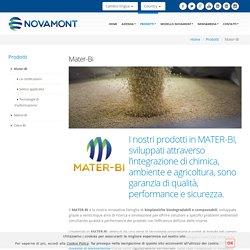 MATER-BI - bioplastiche biodegradabili e compostabili - Novamont