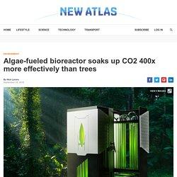 Bioreactor absorbs CO2 400x more effectively than trees