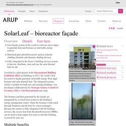 SolarLeaf – bioreactor façade