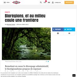 Biorégions, etaumilieu couleunefrontière