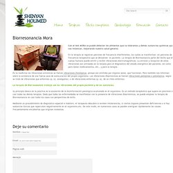 Biorresonancia Mora