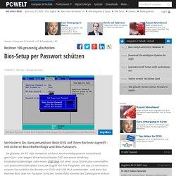 Bios-Setup per Passwort schützen