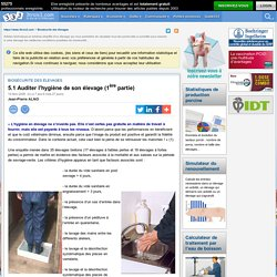 3TROIS3 14/11/08 Auditer l'hygiène de son élevage (1ère partie)