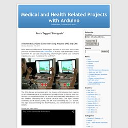 Biosignals « Medical and Health Related Projects with Arduino