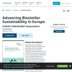 Advancing Biosimilar Sustainability in Europe - IQVIA