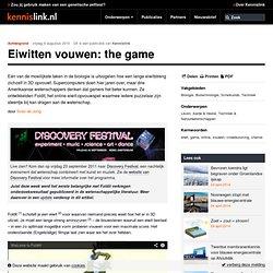 Eiwitten vouwen: the game - Biologie Biotechnologie Scheikunde Techniek