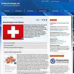 Biotechnologie - Länder im Fokus