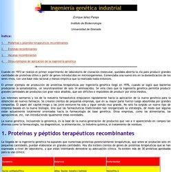 Curso de Doctorado Biotecnologia y Sociedad: aplicaciones ingenieria genetica