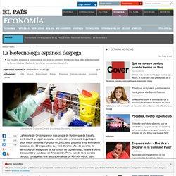 La biotecnología española despega