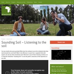 Biovision: Sounding soil
