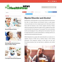 Bipolar Disorder and Alcohol