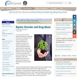 Bipolar Disorder and Drug Abuse