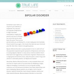 Bipolar – True Life Center for Wellbeing