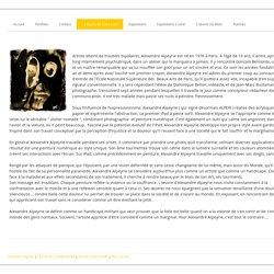 La Bipolarité Dans L'art - Site de alexandrealpeyrie !