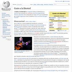 Canto a la libertad - Biquipedia, a enciclopedia libre
