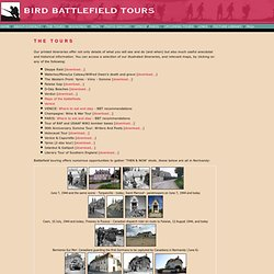 BIRD BATTLEFIELD TOURS