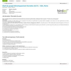 BIRDEO - Offre d'emploi
