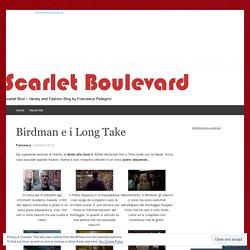 Birdman e i Long Take