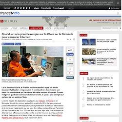 Quand le Laos prend exemple sur la Chine ou la Birmanie pour censurer Internet