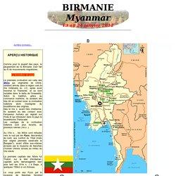 Récit de voyage en BIRMANIE (Myanmar) - janvier 2012