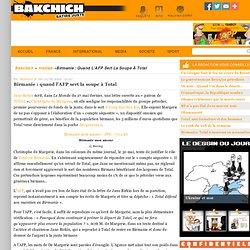 01062009L'AFP roule pour Christophe de Margerie,