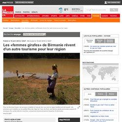 Les «femmes girafes» de Birmanie rêvent d'un autre tourisme pour leur région