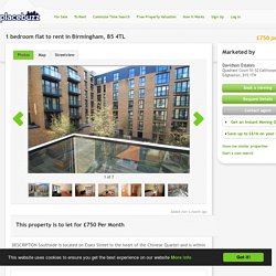 1 bedroom flat to rent in Birmingham, B5 4TL - 11659633 - on Placebuzz