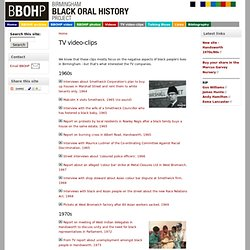 Birmingham Black Oral History Project