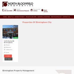Birmingham Property Management & Rental Property Management Companies in Birmingham