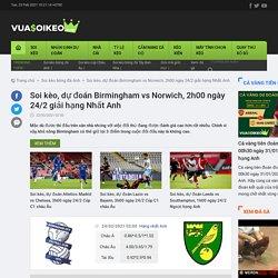 Soi kèo, dự đoán Birmingham vs Norwich, 2h00 ngày 24/2 giải hạng Nhất Anh