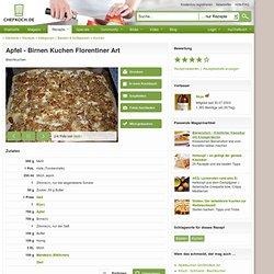 Apfel - Birnen - Kuchen - Florentiner Art