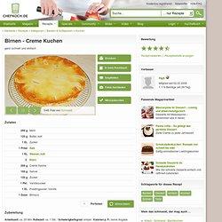 Rezept mit Bild: Birnen - Creme Kuchen