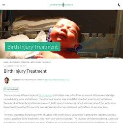 Birth Injury Treatment