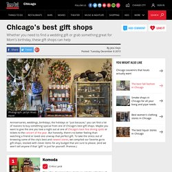 Gift shops for wedding, birthday and anniversary presents